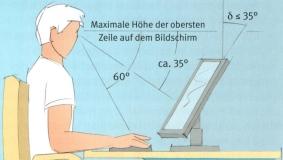 Bildschirm So Niedrig Wie Möglich Aufstellen Bürocenter Butzbach